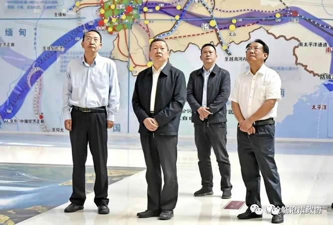 省政协副主席童志云到我市专题调研政协党的建设和乡村规划工作