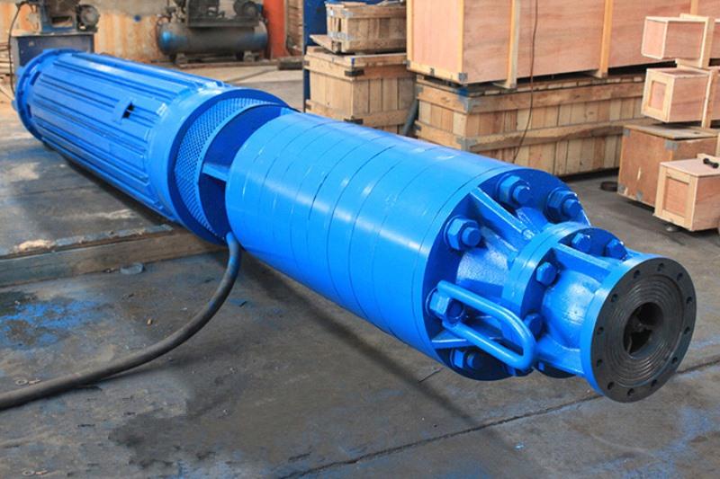 卧式安装潜水泵