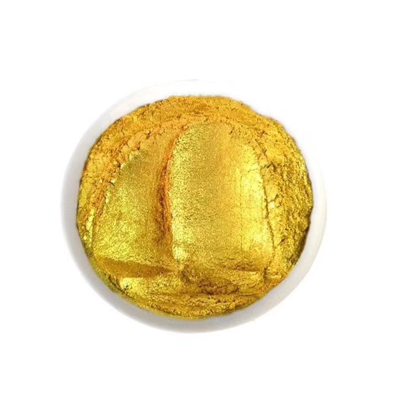 水晶金色珠光粉