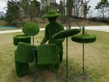 城市造型绿雕