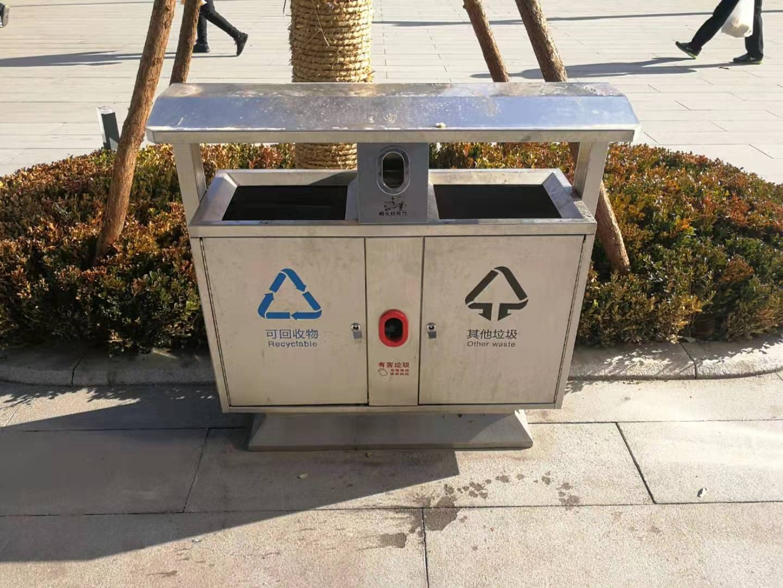 城市户外环卫垃圾桶