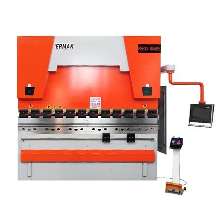 Presse-plieuse synchronisée hydraulique servo-électrique CNC WE67K
