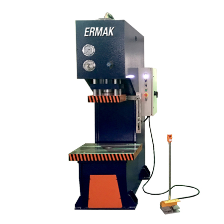 Single column C frame hydraulic press machine