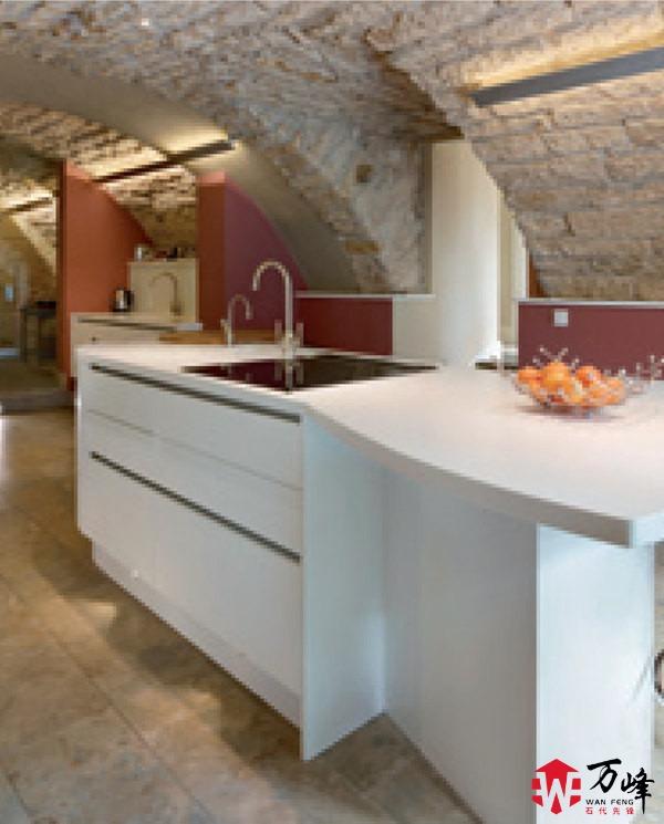 杜邦人造石厨房应用