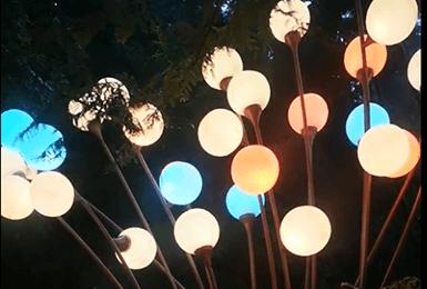 【重庆四面山】触摸灯互动装置