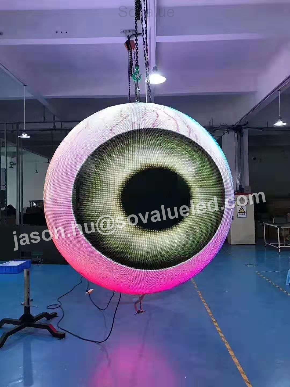 P3 ball LED display