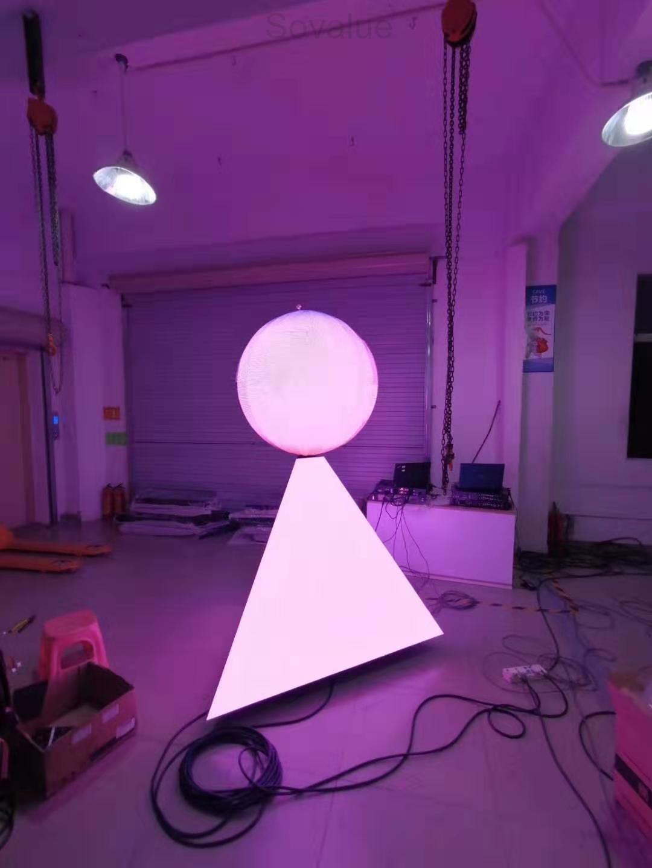 P4 ball LED display