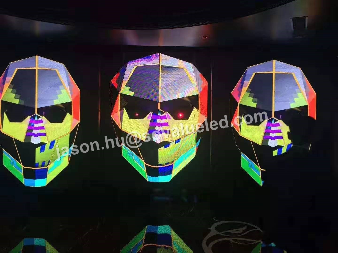 P4 Face LED display
