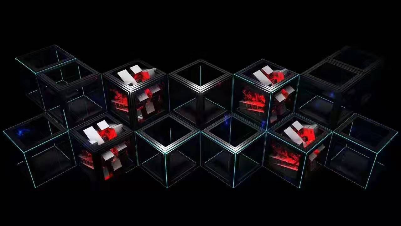3 Disco DJ LED display