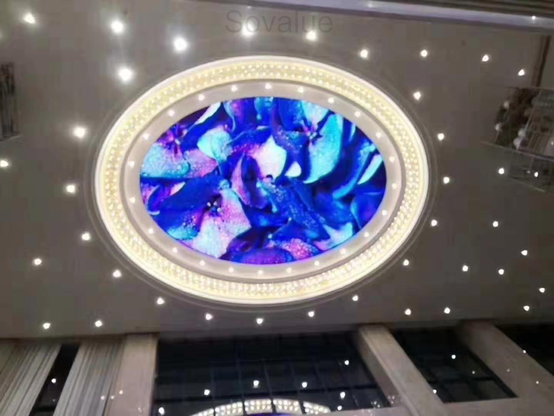 Ceiling LED display