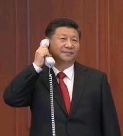 习近平同德国总理默克尔通电话 202011