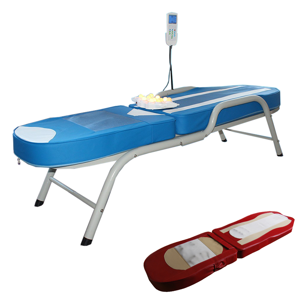 MB02 2021 thermal jade stone roller mini massage bed table