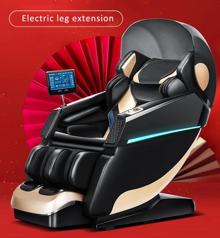 VCT-988RS  Luxury zero gravity Full body shiatsu massage chair with foot roller China luxury massage chair