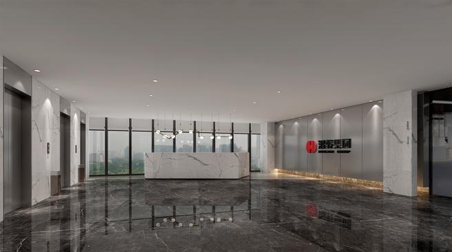 鸿骏集团总部办公楼设计