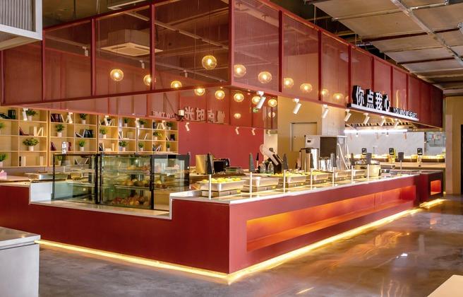 集菜菜智能餐厅设计·沙湾店