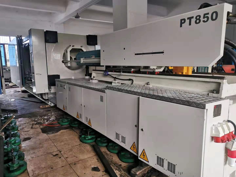 原装力劲850吨伺服1台、机况非常靓、实际使用几个月、下模1060