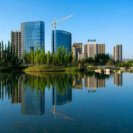 兰州新区楼盘—高层湖景房