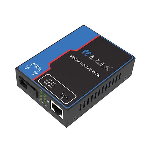 東方之光百兆1光1电光纤收发器 10/100M自适应