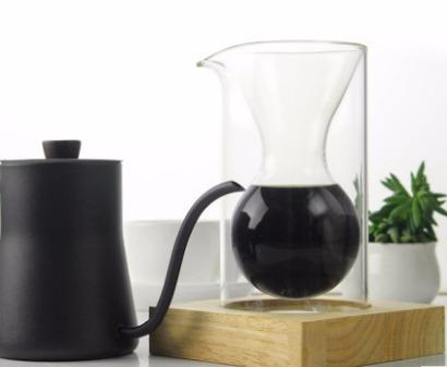 barcafe木座手冲咖啡壶 滴漏式咖啡漏斗壶过滤杯玻璃滴滴壶分享壶