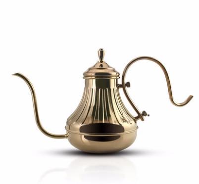 Barcafe手冲咖啡壶 家用咖啡手冲壶加厚304不锈钢长嘴壶煮细口壶