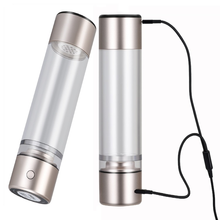 Quantum Intelligent Low Frequency Water Nano Hydrogen Therapeutic cup Multi-function drinking wate bottle portable inhaler OLED screen