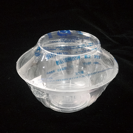 Cup and bowl in one independent packaging set