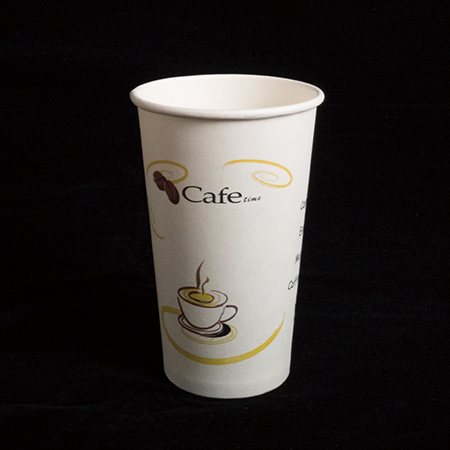 16 oz Extra thick hot paper cup (Cafe time)
