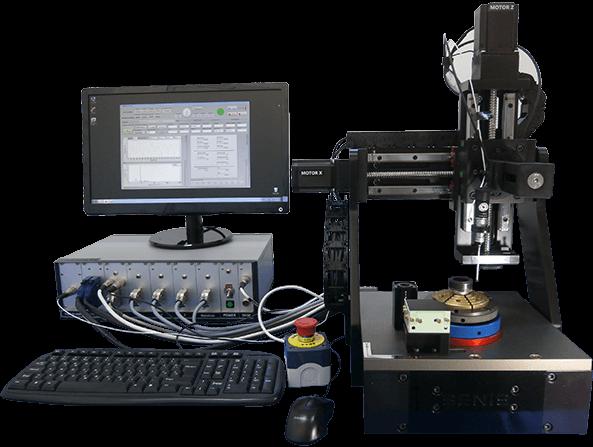 高精度3D磁场扫描测量,条形,圆环,块状磁铁,磁铁内裂检测