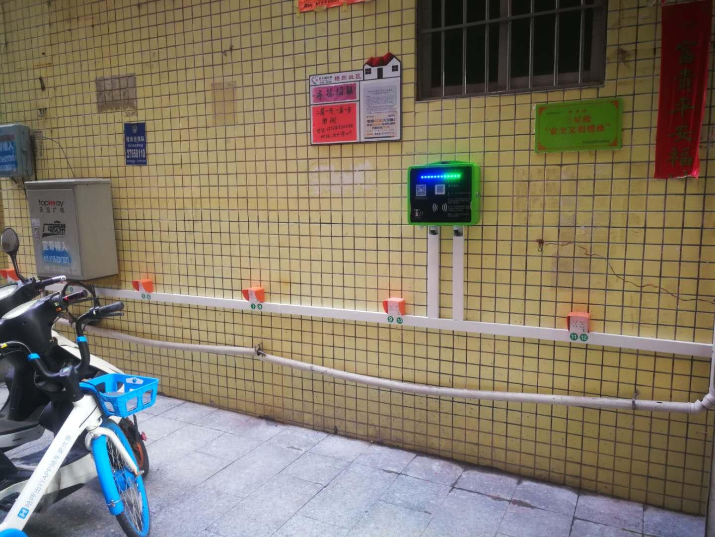 深圳松岗楼岗北11巷2号电瓶车充电桩