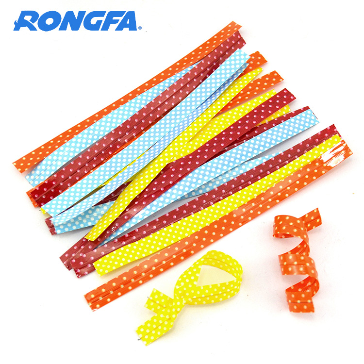 Printed Plastic Twist Ties