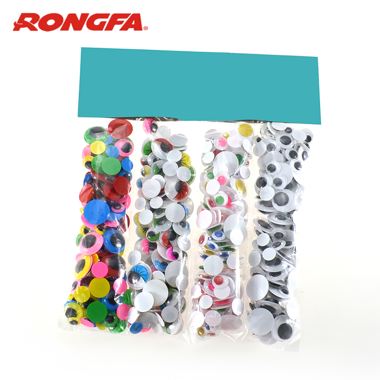 500PCS Mixed Various size and colors wiggle eyes
