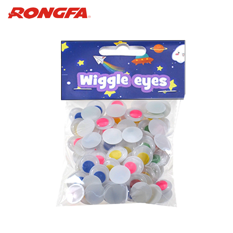 12mm 5colored Pupil Wiggle Eyes Assorted 100PCS/Bag