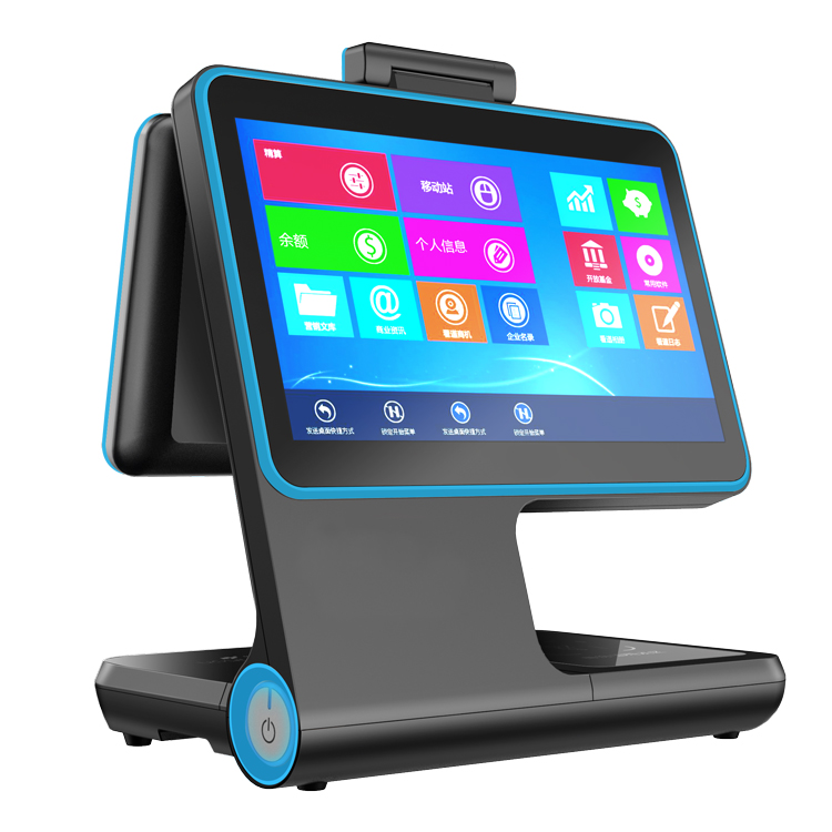 HWD-V2Andriod安卓双面人脸访客机 双屏