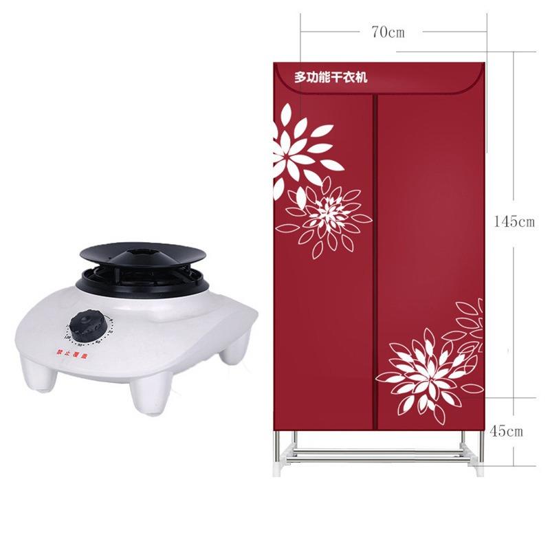 金正NINTAUS干衣机家用烘衣机双层大容量 高温自动断电静音省电