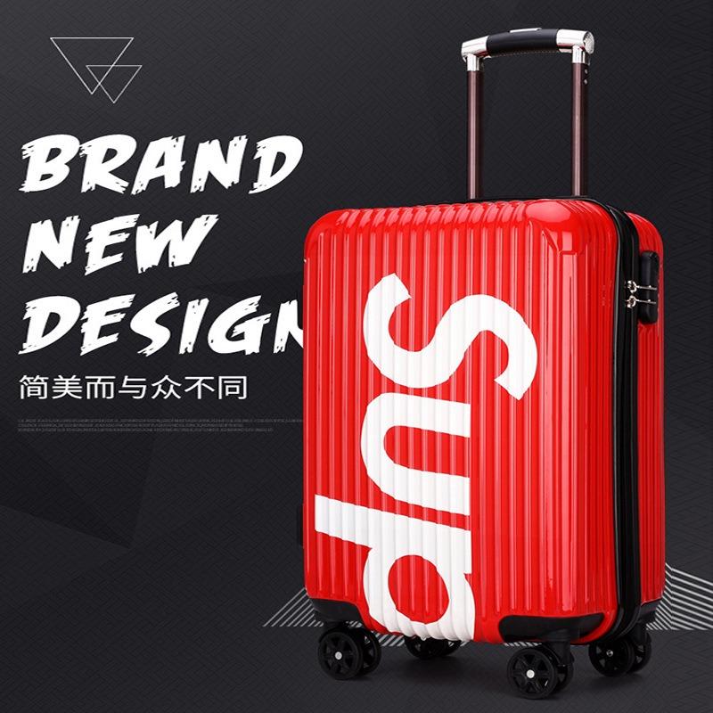 行李箱网红拉杆箱ins万向轮20寸密码旅行箱促销会销银行保险礼品