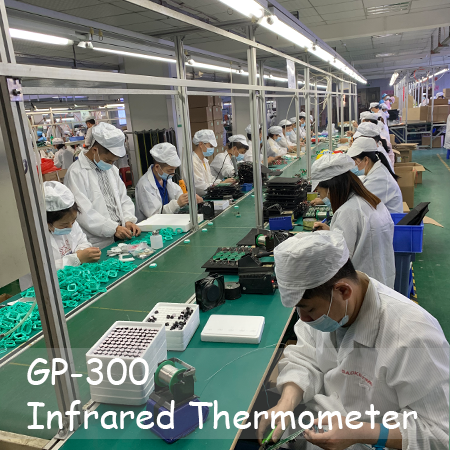 GP300 Infrared Thermometer with FDA, CE, ROHS certifications NON contact