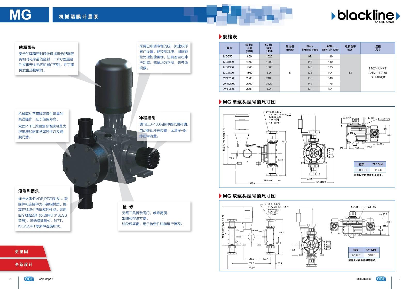 固化剂铸造机泵M321PPSV M321ASV M421PPSVM421ASV意大利OBL计量泵