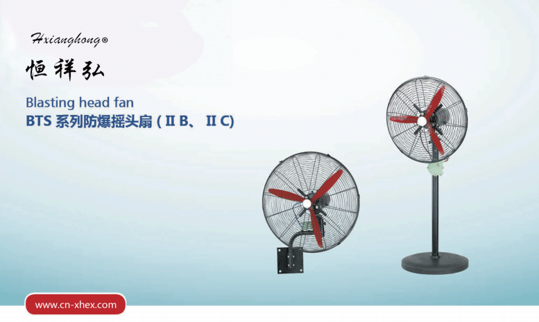 BTS系列防爆揺头扇(II B、II C)