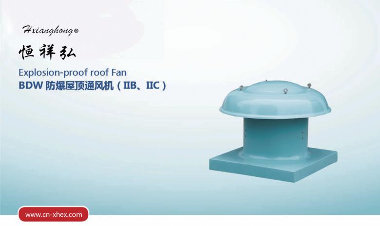 BDW防爆屋顶通风机(IIB、IIC)