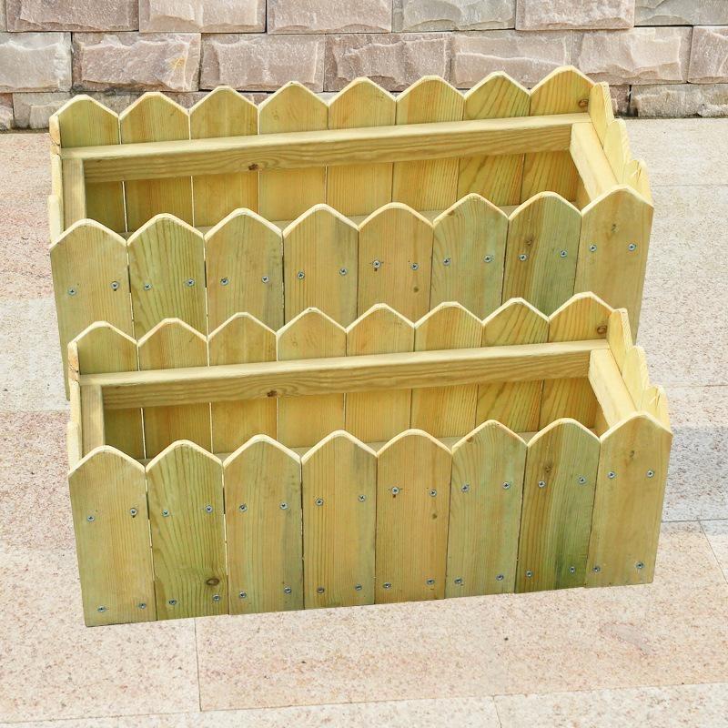 防腐木木制花箱