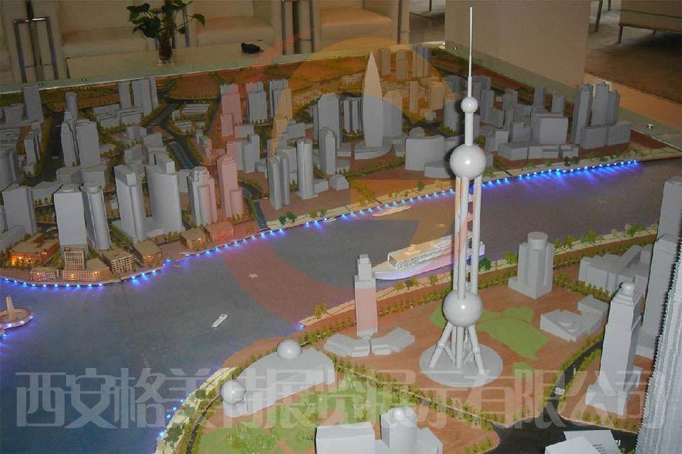 上海东方之珠模型