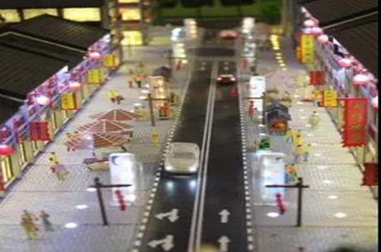 西安沙盘模型,从细节上体现建筑沙盘模型的...