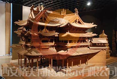 陕西模型制作寺庙