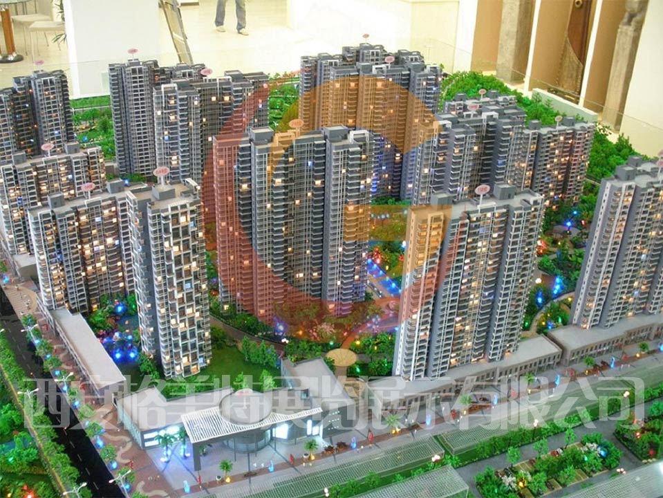 山西沙盘制作绿地项目