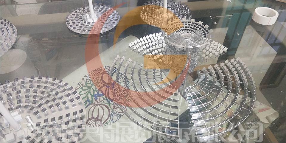 太阳能发电沙盘模型