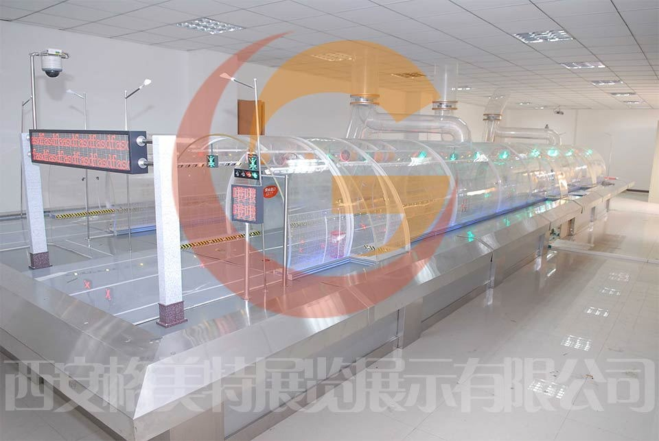 金路集团隧道模型制作
