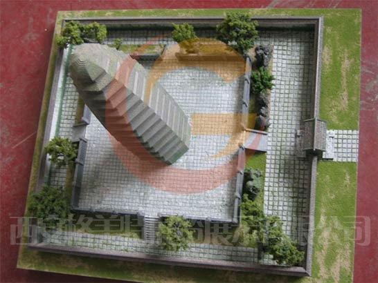 法门寺模型制作