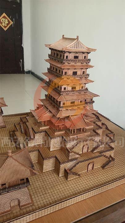 河南洛阳牡丹园模型制作
