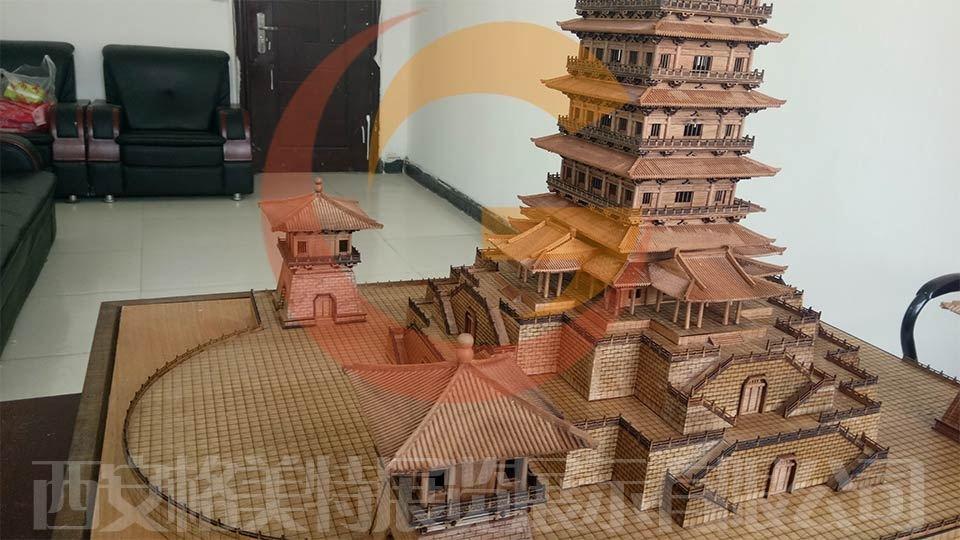 河南洛阳牡丹园沙盘模型