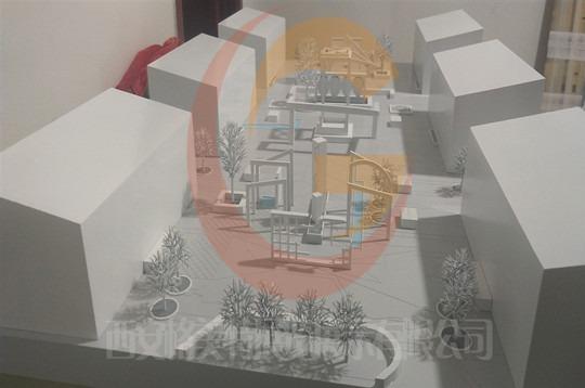 西安沙盘模型学生作品